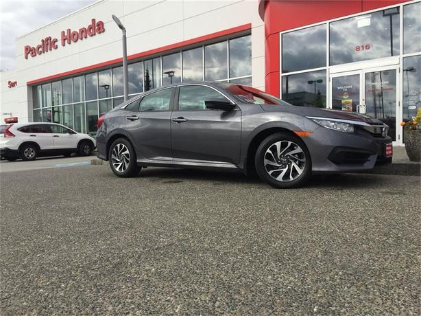 2016 Honda Civic Sedan EX - Perfect local trade in with zero claims