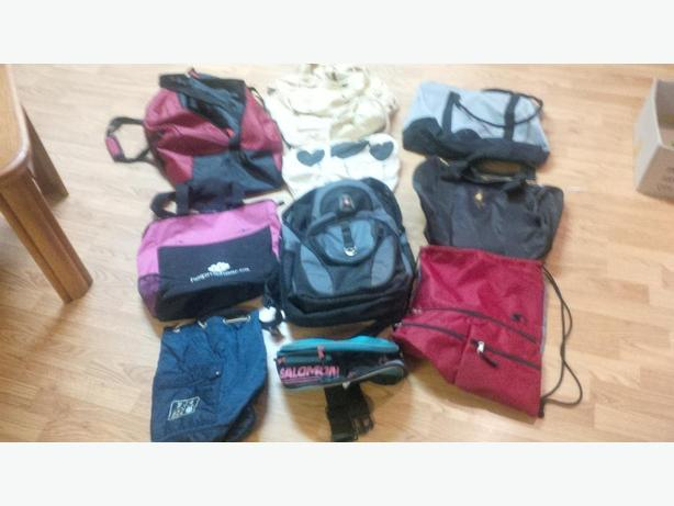 Collection of 9 bags of all sorts