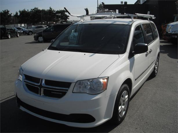 2011 Dodge Grand Caravan C/V Cargo Van with Roof Rack