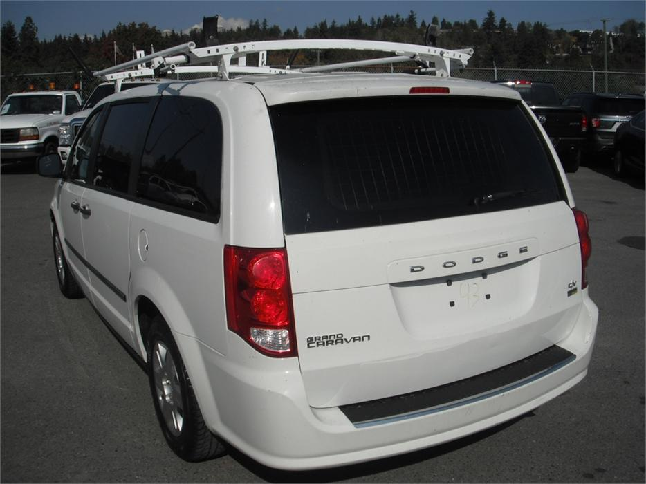 2011 dodge grand caravan c v cargo van with roof rack. Black Bedroom Furniture Sets. Home Design Ideas