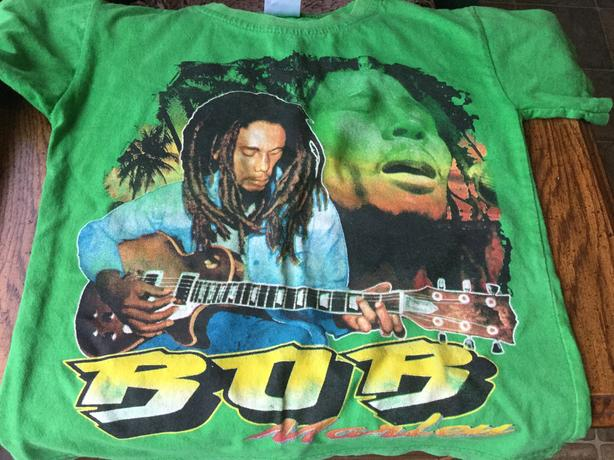 Children - Bob Marley T-shirt with Dreadlocks Rasta Hat