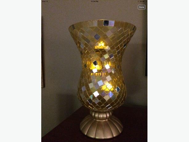 Partylite Huricane vase