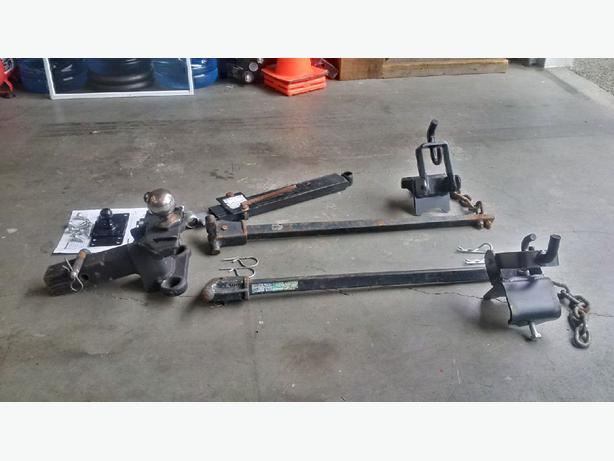 Reese Trailer Hitch System - Trunnion style with Anti Sway ...