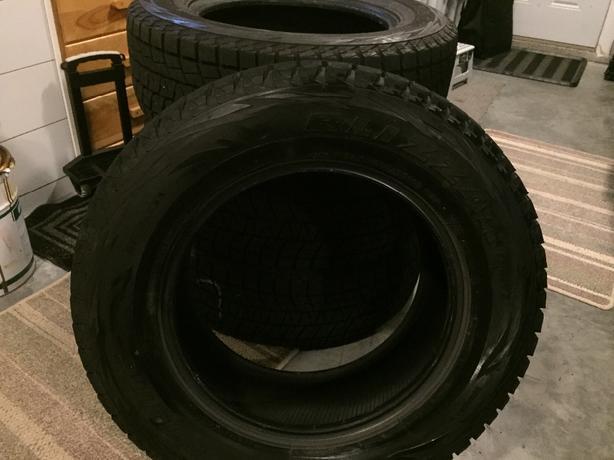 Blizzak DM V1 winter tires like new