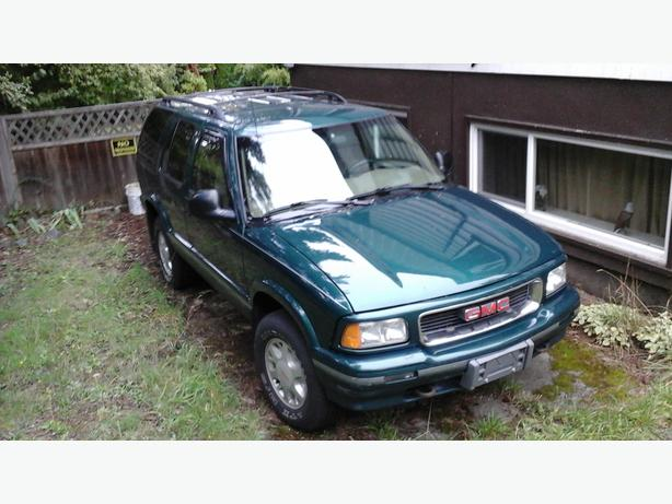 1997 GMC JIMMY WHISTLER EDITION