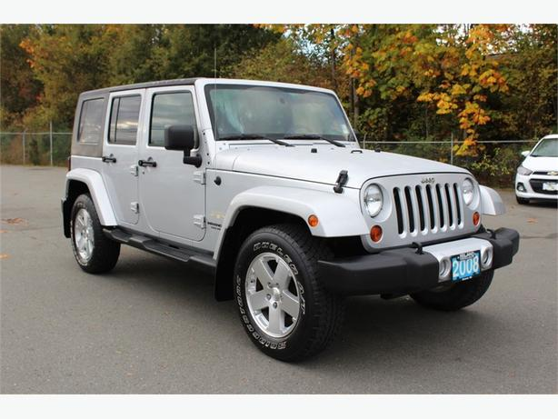 2008 Jeep Wrangler Unlimited Sahara | REMOVABLE HARDTOP | A/C