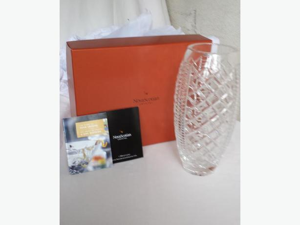 REDUCED from $125 Nova Scotia Crystal Vase