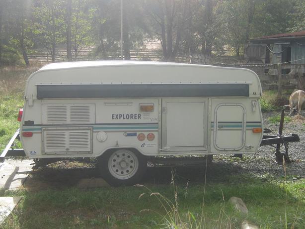 2000 Explorer Y2K tent trailer