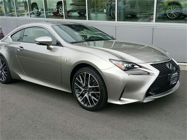 2015 Lexus RC 350 NO ACCIDENTS LOCAL VICTORIA ONE OWNER