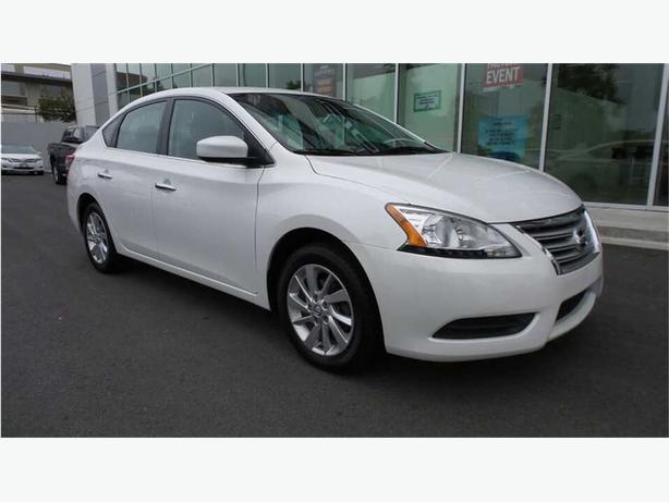 2013 Nissan Sentra 1.8 SV LOCAL B.C. ONE OWNER