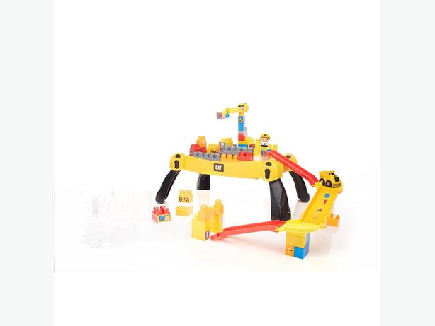 Mega Bloks Caterpillar Ultimate Contruction Set