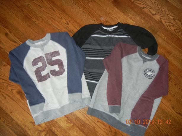 4 PAIRS BOYS SIZE 12H PANTS AND 3 TOPS SIZE 14