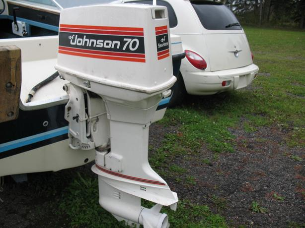 70 HP Johnson Eng Low hours