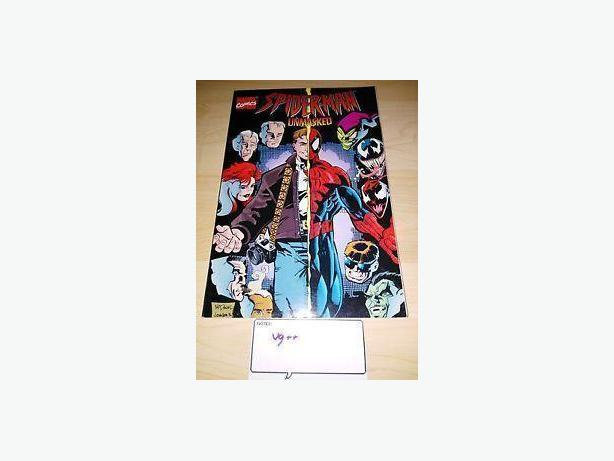 1996 Spiderman Unmasked Comic/Graphic Novel