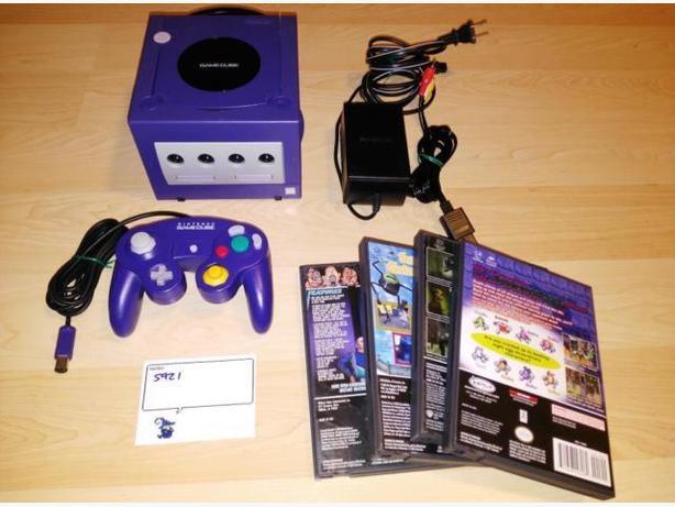 Indigo Nintendo Gamecube With Controller & $40 Towards Games