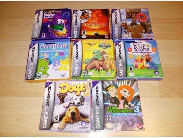 Lot Of 8 Nintendo Gameboy Advance Games Complete In Box