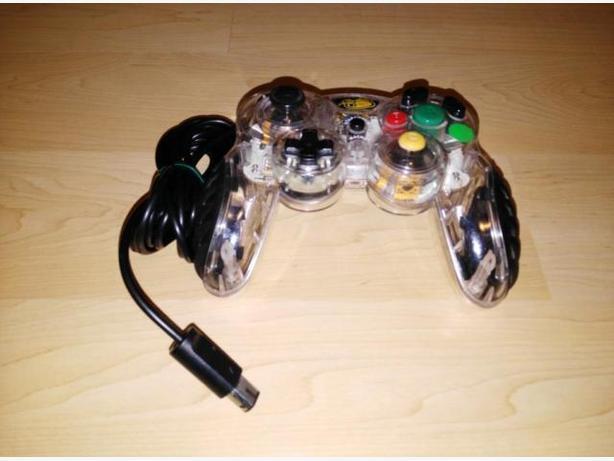 Transparent Gamecube Micro Controller