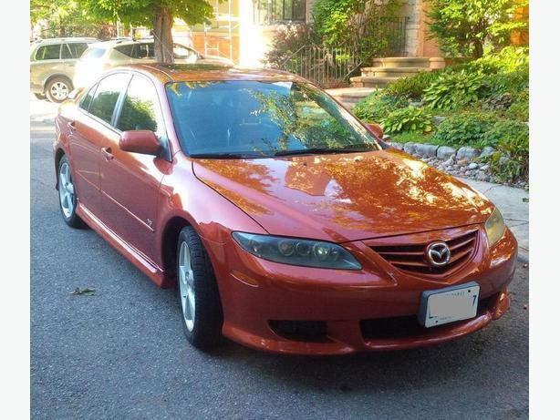 2004 Mazda6 Sport Hatchback, stick shift