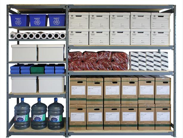 Steel Shelving - commercial grade shelving - Many brands - heavy duty
