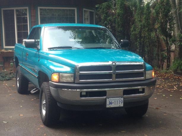 1997 Dodge Ram 1500 4X4 5spd