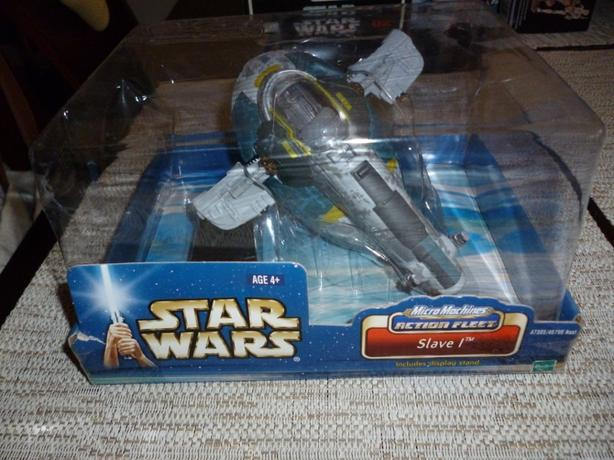 Star Wars Micro Machines Action Fleet Slave 1