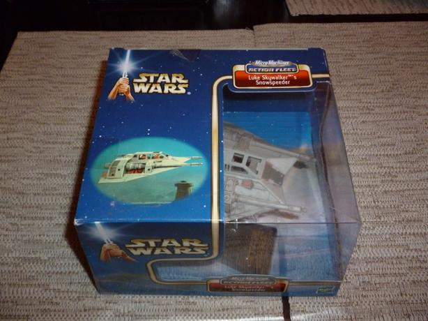 Star Wars Micro Machines Action Fleet Luke Skywalkers Snowspeeder