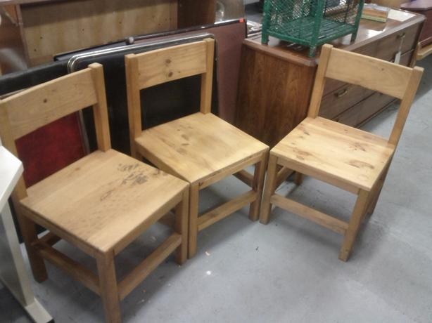 Pine Chairs (Only 2 Left)