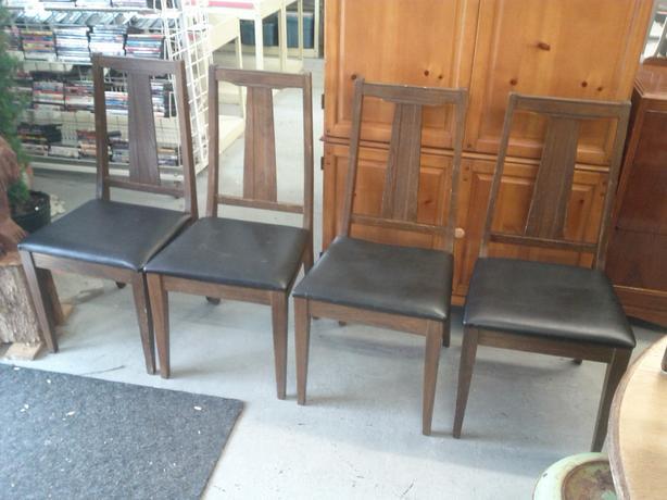 4 Mid Century Modern Chairs