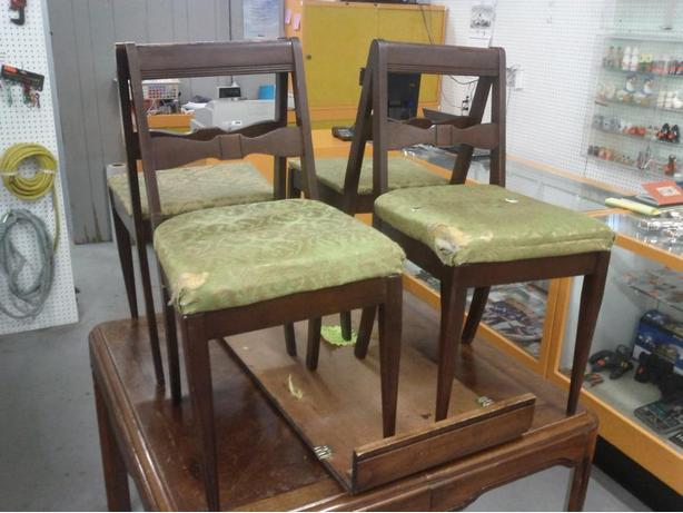 4 Vintage Chairs (Reduced $68.00)