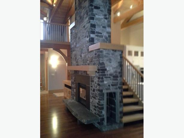 Fireplace, exterior and patio stone, brick and tile services