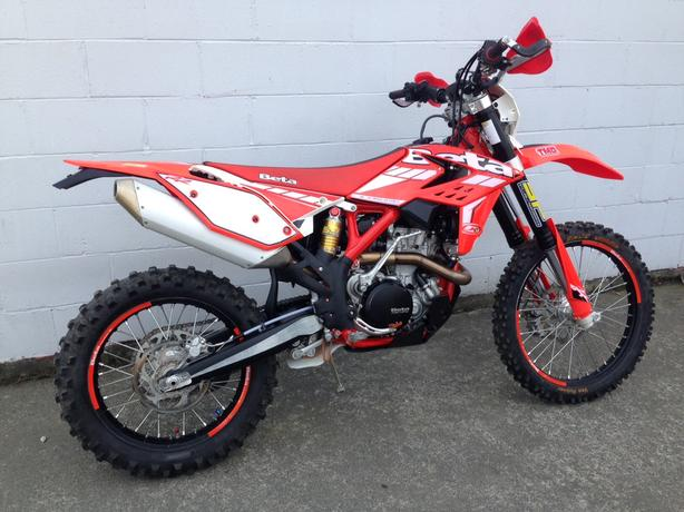 2015 Beta 480rr 4-stroke woods bike many extras