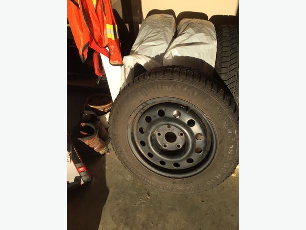 Winter tires - used 1 season