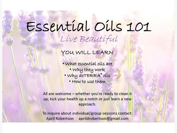 Essential Oils (doTERRA)