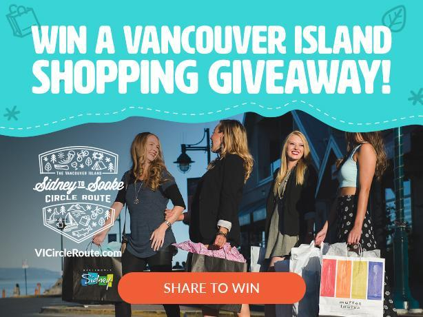 Win a $50 shopping giveaway for Tatum & Olivia Boutique in Sidney BC