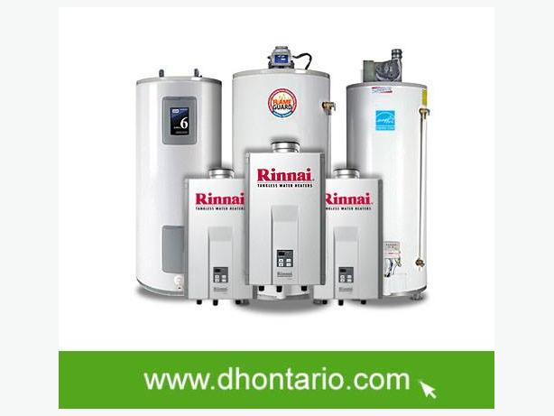 Hot Water Heater Upgrade -Worry-FREE Rental Program