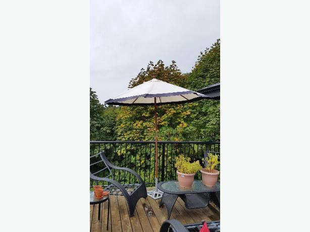 Patio Umbrella used like new moving sale