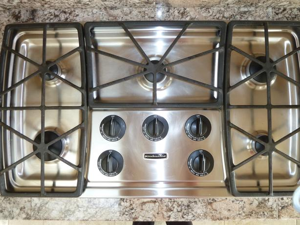 KITCHEN AID GAS STOVE TOP