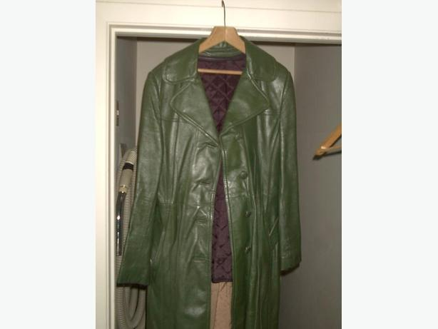 WOMAN'S LEATHER ( REAL leather ) COAT