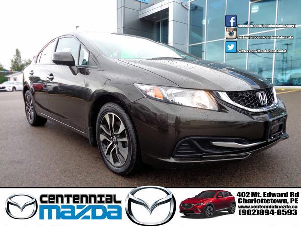 2013 Honda Civic EX sedan only 69000 km!
