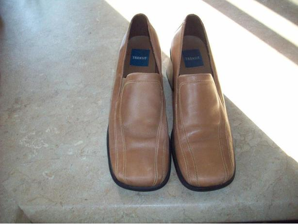 Ladies Transit Leather Shoes - Size 39 (9)