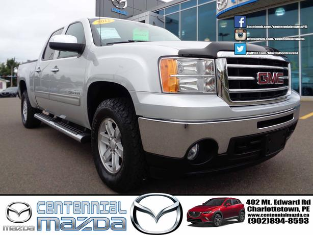 2012 GMC SEIRRA C/C 4X4 SLE REDUCED TO $27830