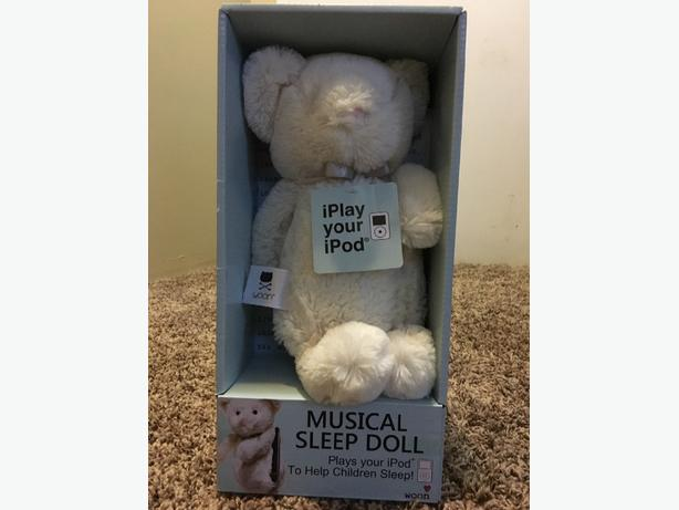 ipod, iphone or mp3 player sleep toy
