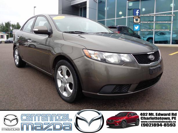 2010 KIA FORTE EX 5 SPEED MANUAL REDUCED TO $4495