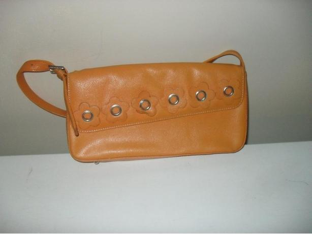 Beautiful Orange Marino Orlandi Purse