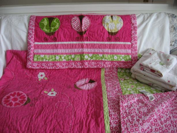 Children's Ladybug Bedroom Set for Girl