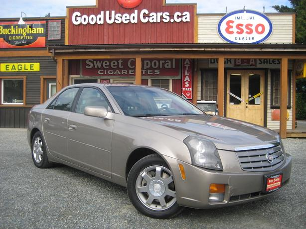 2003 Cadillac CTS, Executive Class Luxury