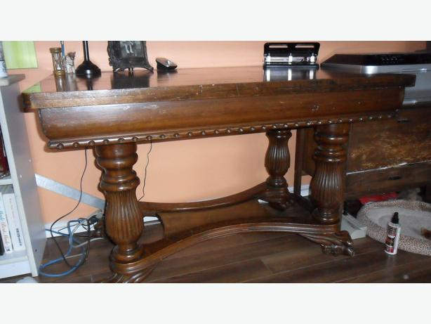 Antique Library Desk