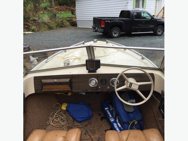 14.5 Fiberglass Boat