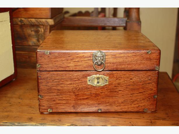 Various Antique Boxes