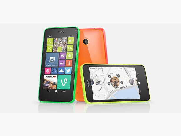 Brand new UNLOCKED Microsoft Nokia Lumia 635, Black